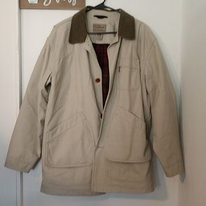 LL Bean barn jacket in size large.